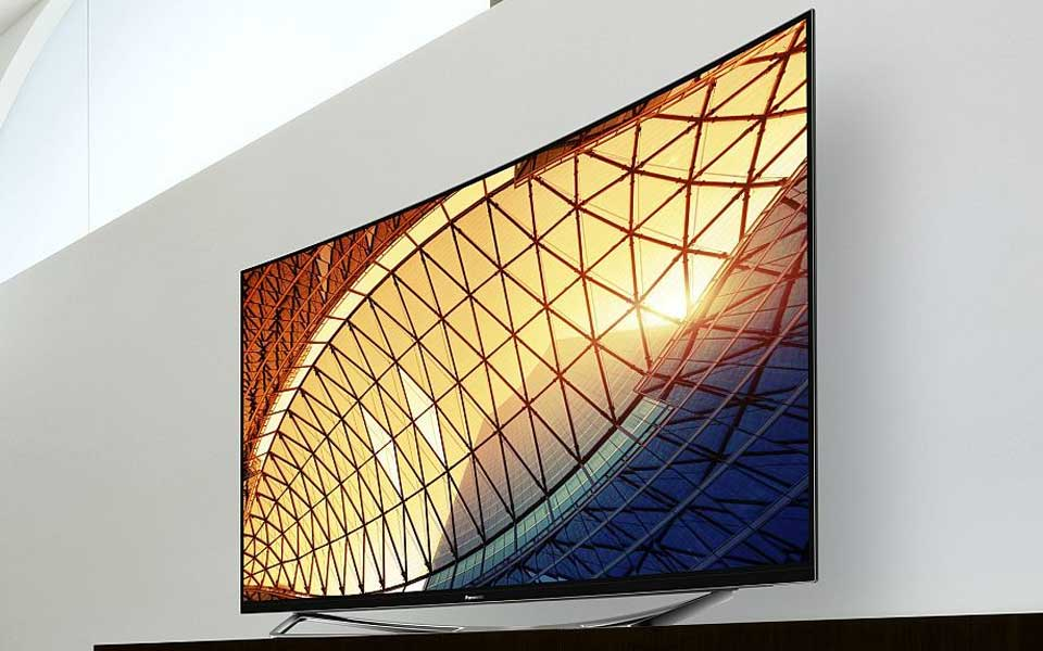 Panasonic TX-65CXW954 mit curved 4k OLED Display