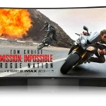 U65S8806DS 65 Zoll curved 4K Fernseher mit Harman/Kardon Soundsystem