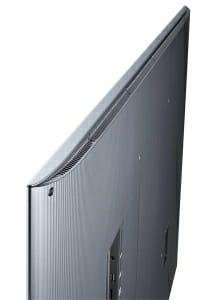 Auch ein Rücken kann entzücken. Die Kehrseite von Samsung UE55JS8090 SUHD TV