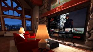 Die Netflix VR-App lässt sich bereit auf Samsungs Gear VR nutzen