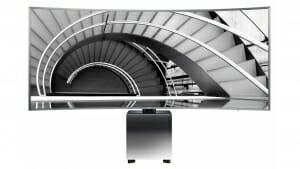 Samsung UE82S9W Luxus-TV mit Curved 5K Display im 21:9 Format
