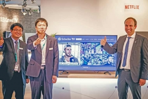 Schalke Smart-TV App auf dem neuen K700 UHD TV