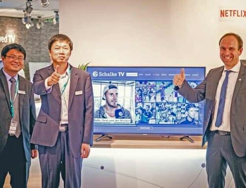 Hisense K700 UHD-TVs und neue TV-App für Schalke-Fans