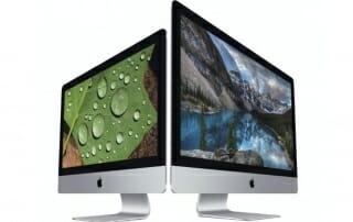 Apple 4K Imacs mit 21,5 und 27 Zoll