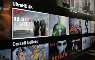 Netflix 4K Serien und Filme