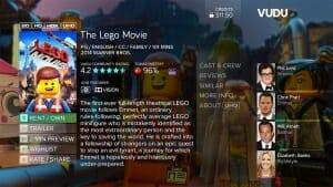 Vudu Filme in 4K und HDR