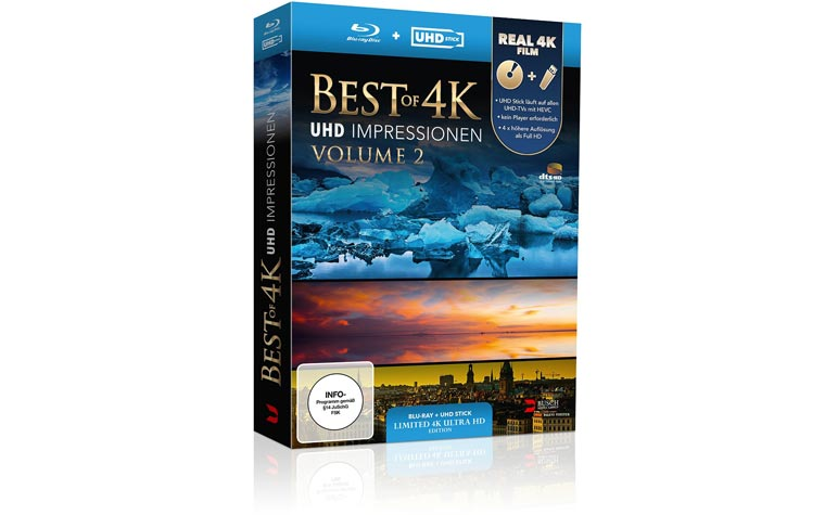 Best of 4K - UHD Impressionen Volume 2