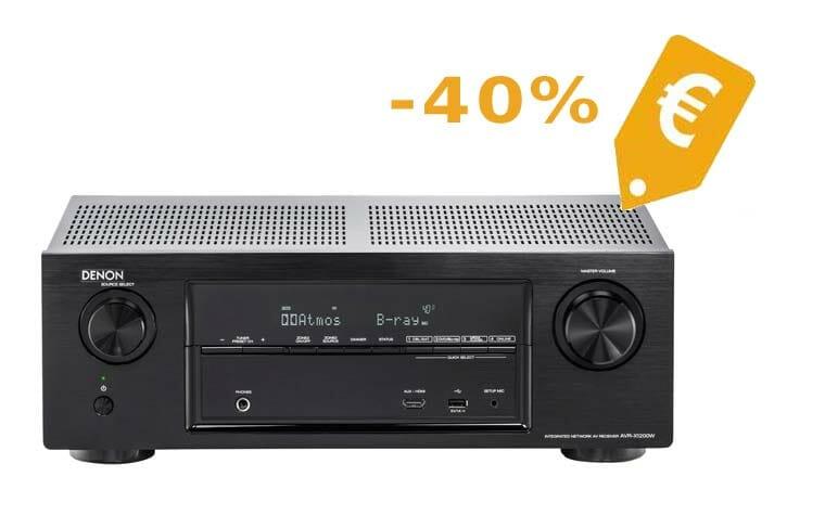 Denon 7.1 Dolby Atmos Receiver 40 Prozent günstiger