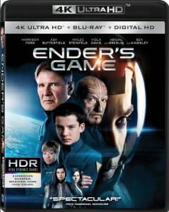 4K HDR Blu-rays erkennt man mit einem Blick an dem Logo welches an der linken Seite des Front-Covers abgebildet ist.