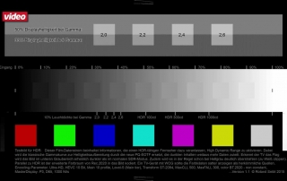 HDR Testvideo