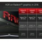 AMD Radeon Grafikkarten in 2016 mit HDR