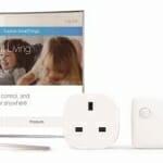 Samsung 2016 SUHD TV mit einer Auswahl diverser IoT Geräte