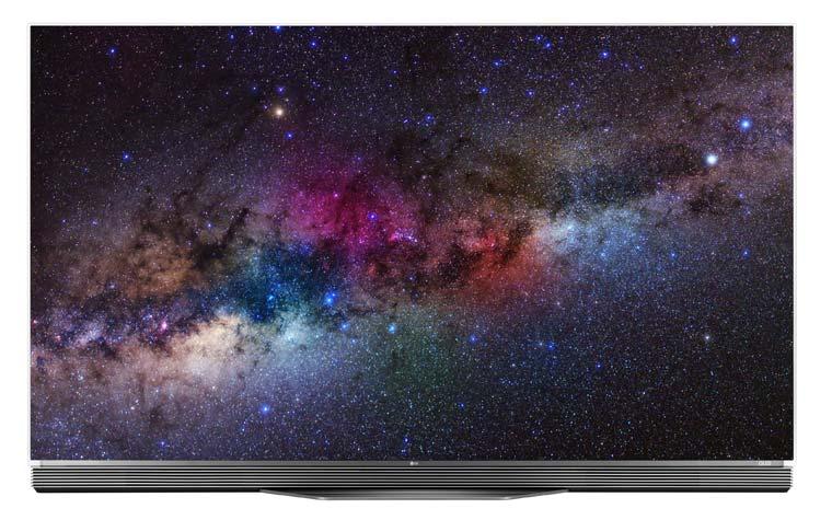 Die LG B6 (gebogen) und C6 (flach) 4K OLEDs sind jeweils mit 55- und 65 Zoll erhältlich (Bildquelle: LG)