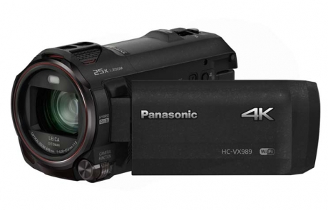 HC-VX989 neuer 4K Camcorder mit schwenkbarem Display