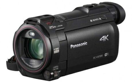 HC-VXF999 ist kompakt und mit einem Sucher und schwenkbarem Display ausgestattet
