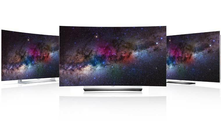 LGs neue 4K OLED Fernseher mit HDR auf der CES 2016 - 4K Filme