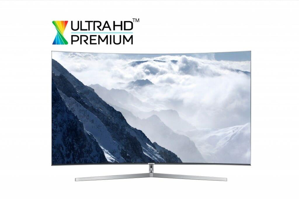 Das hochauflösende Bild gibt uns einen Einblick in das neue Design der Samsung SUHD TVs