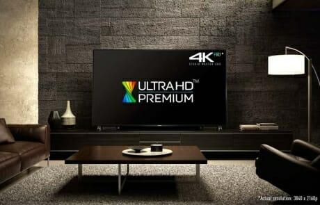 Die Modelle der DXW904 Serie sind Ultra HD Premium zertifiziert