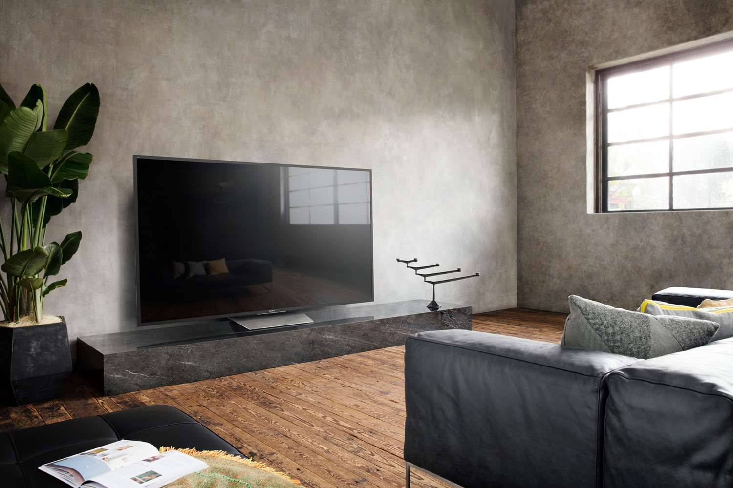 sony neue 4k hdr fernseher mit bis zu 85 zoll ces 2016 4k filme. Black Bedroom Furniture Sets. Home Design Ideas