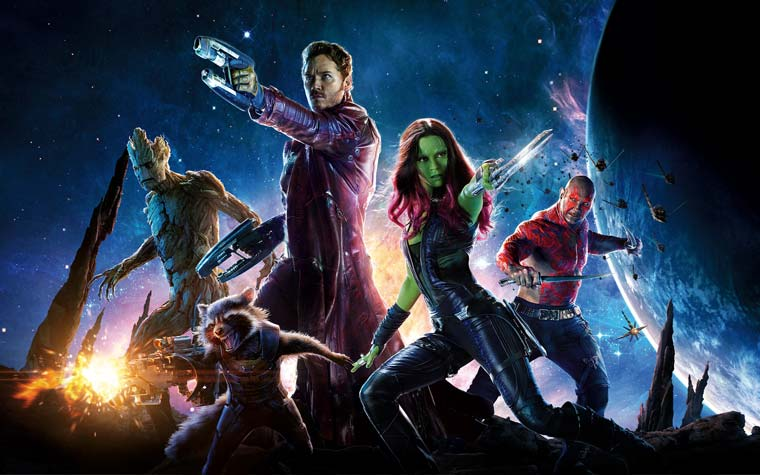 Guardians of the Galaxy 2 wird mit REDs Weapon 8K Kamera gedreht