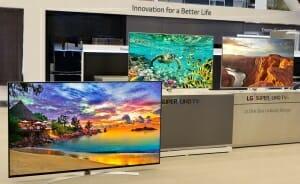 LGs Super UHD TVs für 2016 werden auf der CES vorgestellt