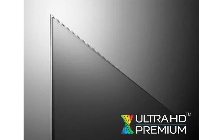 LG OLED 4K Fernseher aus 2016 erhalten UHD Premium Logo