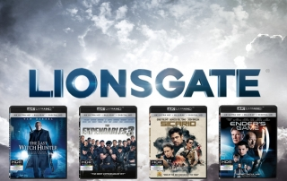 Lionsgate 4K Blu-ray mit HDR, Dolby Atmos & DTS:X