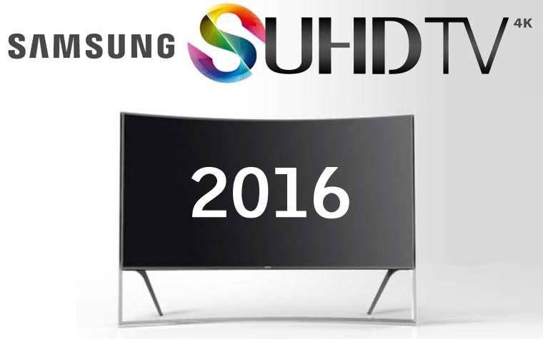 Samsung SUHD TV 2016 Geräte