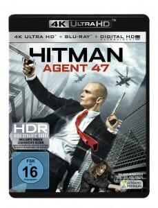 Hitman Agent 47 4K Blu-ray deutsches Cover