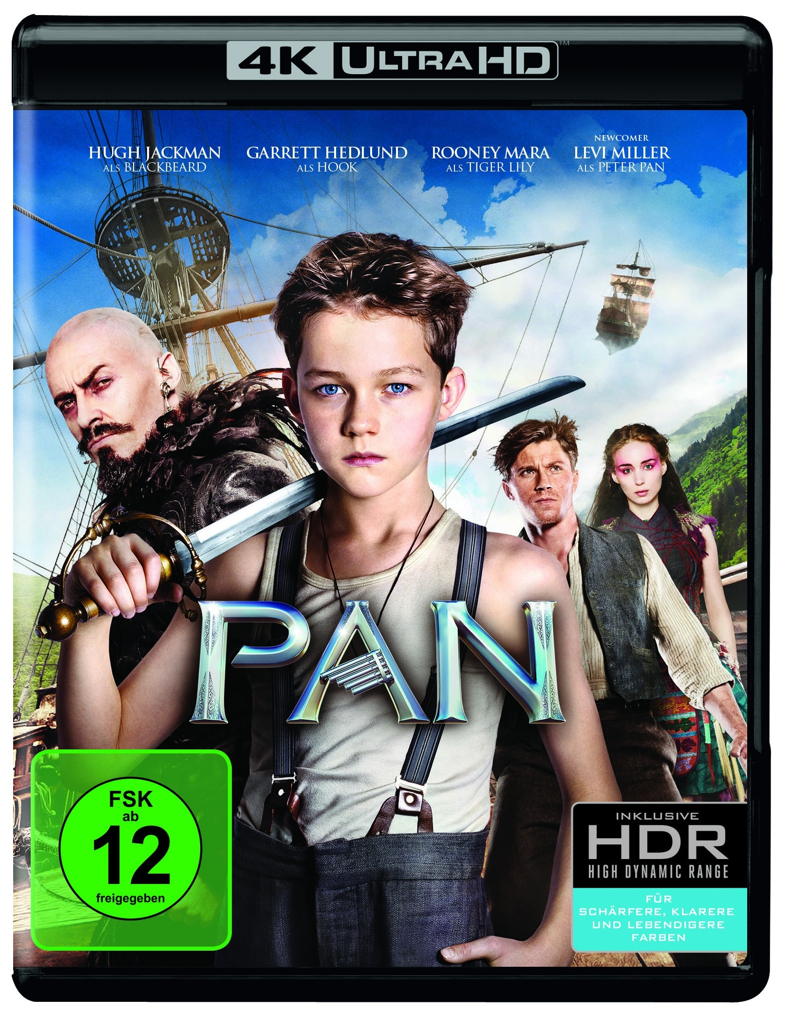 Mad Max: Fury Road und Pan als 4K Blu-ray