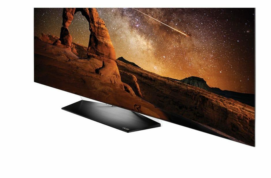 B6 OLED 4K Fernseher Frontansicht