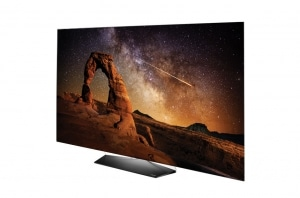 B6 4K OLED Fernseher mit flachem Display