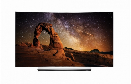 C6 4K OLED Fernseher mit curved Display und 3D-Wiedergabe