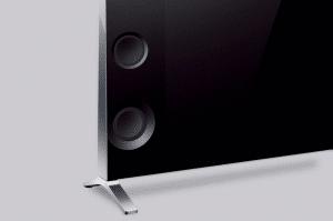 Ferrofluid Lautsprecher wie sie z.B. bei der Sony X93 Serie zum Einsatz kommen