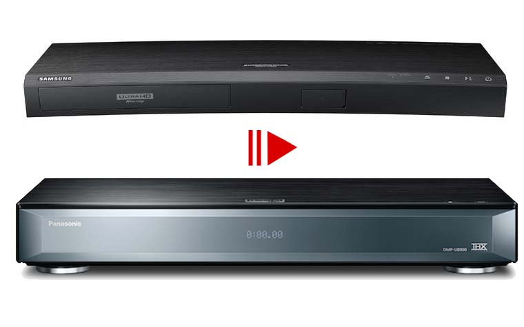 4K Blu-ray Player Unboxing Videos