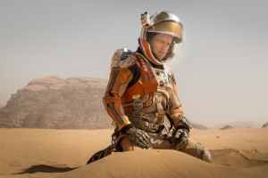 """""""Der Marsianer"""" ist im Bundle des UBD-K8500 enthalten (Solange Vorrat reicht) - Bild: 20th Century Fox"""