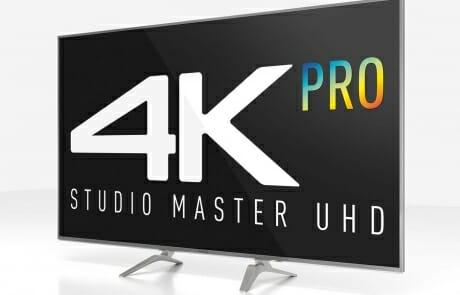 TX-65DXW784 mit 4K Pro Studio Master UHD