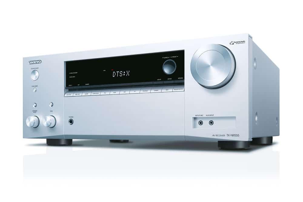 TX-NR555 7.2 AV-Receiver mit 6 HDMI-Eingängen und 1 Ausgang