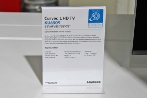 Spezifikationen der KU6509 Modellreihe