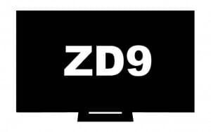 Mockup des Sony ZD9