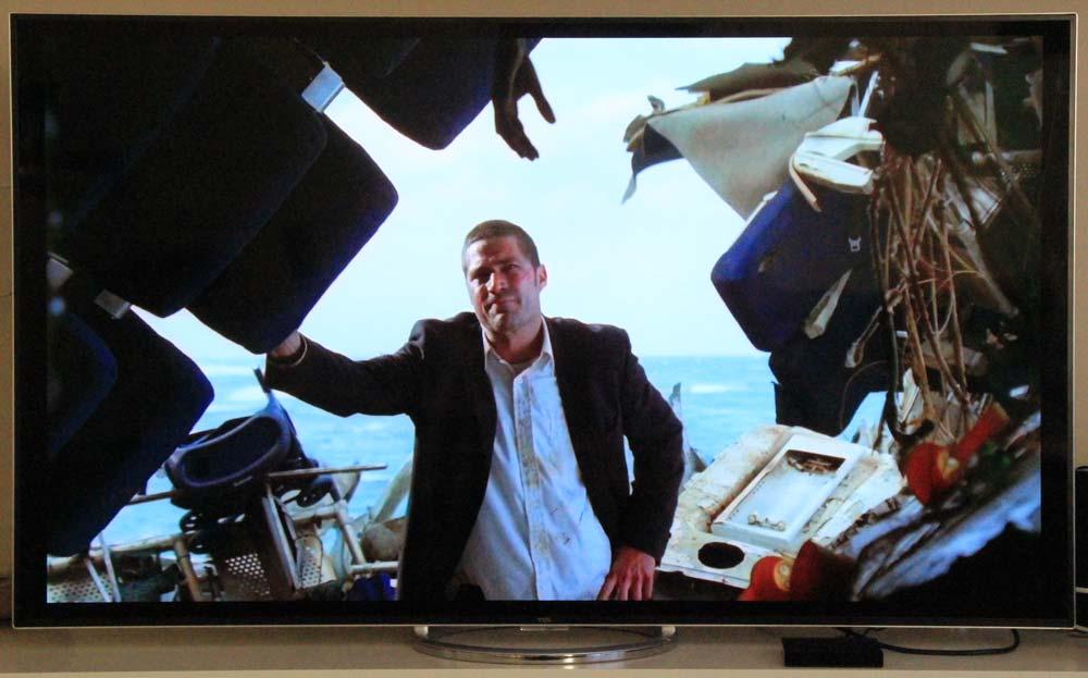 Auch FHD-Streams (Lost) sehen auf dem 4K TV gut aus