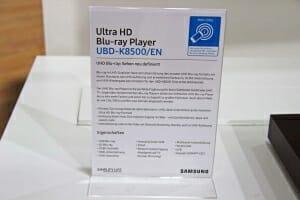 Die Spezifikationen des UBD-K8500