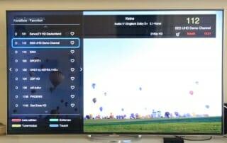 ...bei HD und UHD Inhalten nimmt die Qualität aber deutlich zu