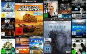 4K Blu-ray Neuheiten im Mai 2016