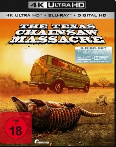 The Texas Chainsaw Massacre auf UHD Blu-ray mit Auro 3D un Dolby Atmos!