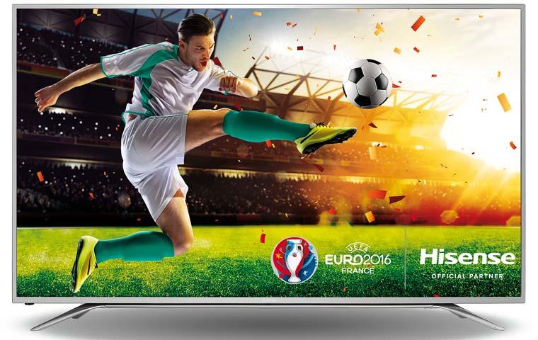 Hisense 4K Fernseher & Fußball EM Gewinnspiel 2016