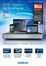 Datenblatt des HUMAX UHD 4tune+ herunterladen (Klick)