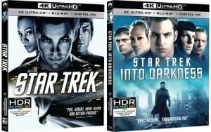 """""""Star Treck"""" und """"Star Treck: Into Darkness"""" erscheinen auf 4K Blu-ray"""