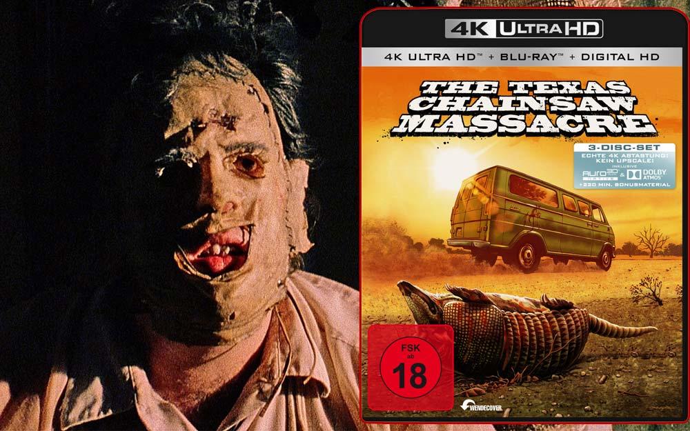 The Texas Chainsaw Massacre erscheint auf UHD Blu-ray