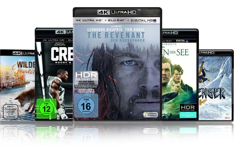 4K Blu-ray Neuheiten in der Kalenderwoche 20 (2016)